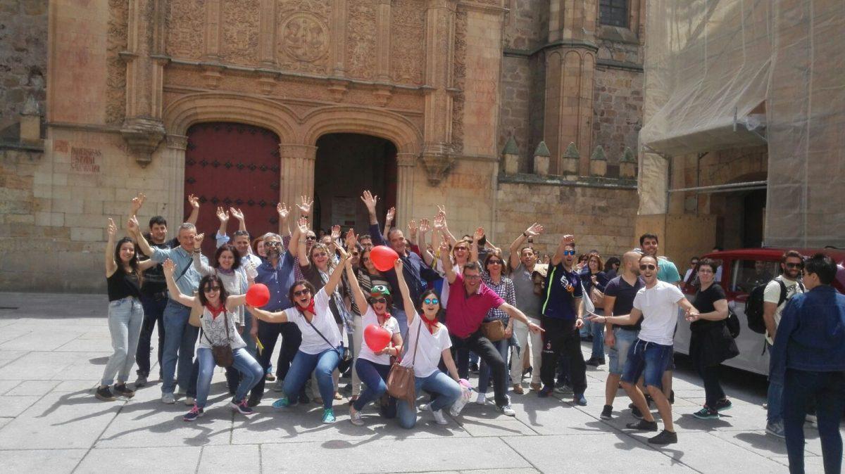 Gymcana urbana en Salamanca y Valladolid