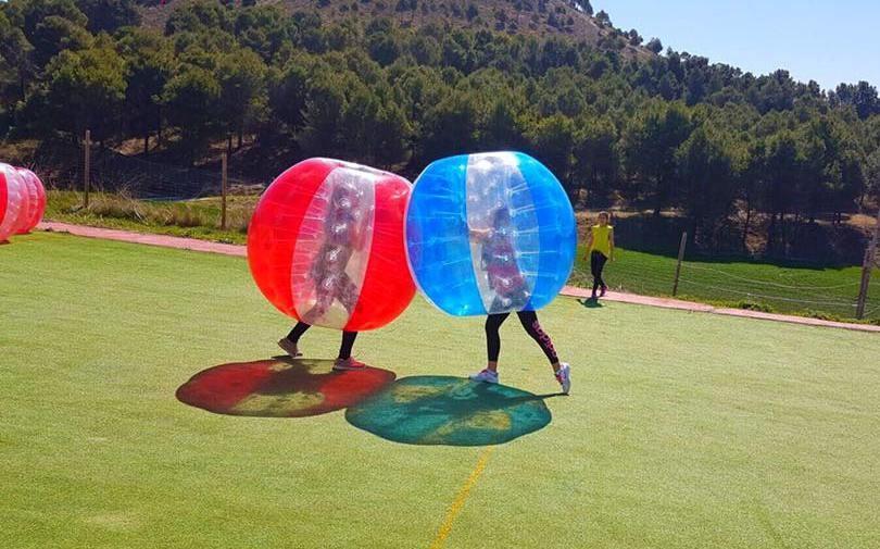 bubble ball salamanca